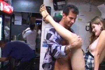 Кухонный секс сексопильный пары