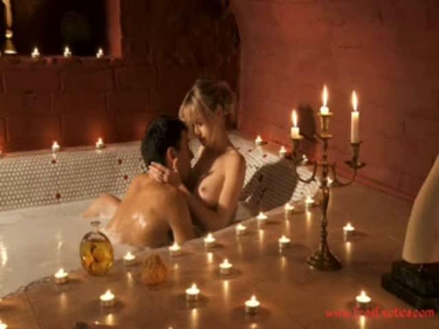 Очень красивый секс после романтического ужина