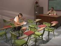 Девушка с помощью своего красивого тела сдала экзамен на пять