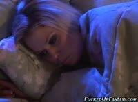 Девушка делала аборт прямо на своей кровати